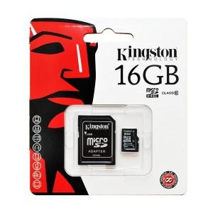 kingston mikro sd 16 gb